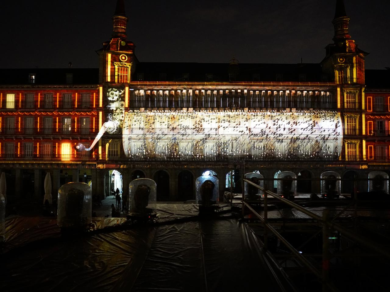 Mapping Show Plaza Mayor 400 aniversario